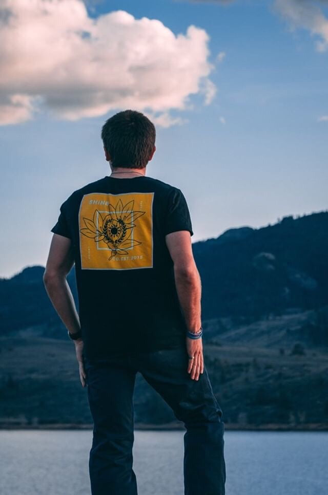 Yellow Lotus Tee