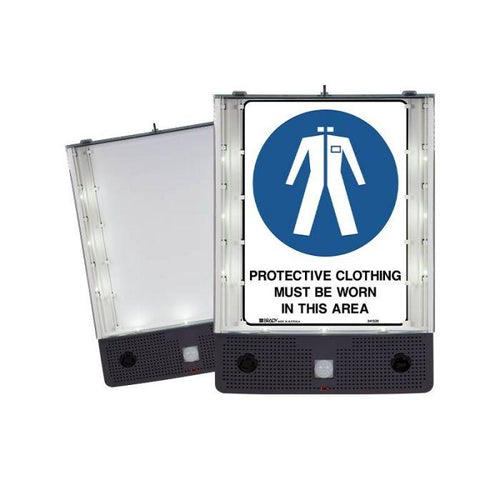 Safety Sign Alerter - Protective Clothing