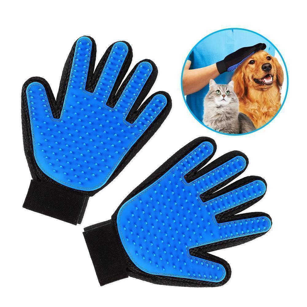 Hirundo Pet Hair Remover Glove (Great for Cats/Dogs) - mygeniusgift