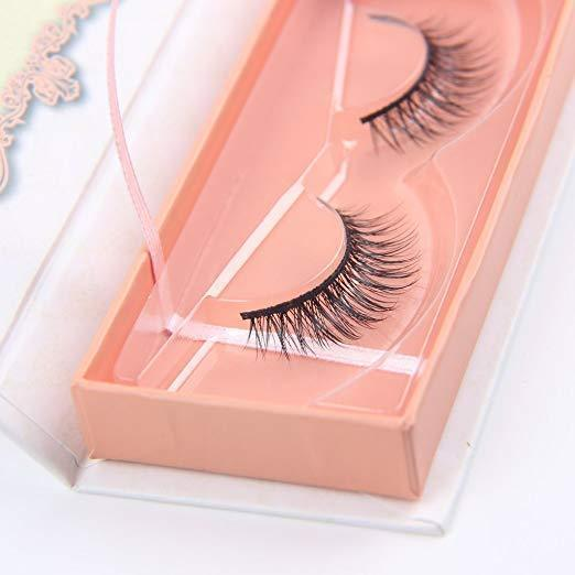 24P self-adhesive 3D false eyelashes-Not allergic