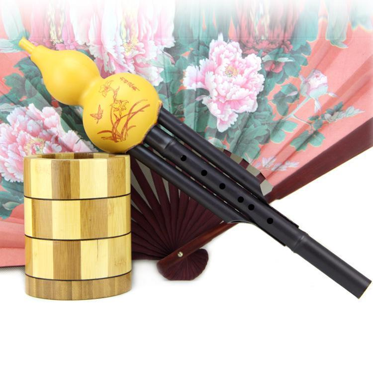 Cucurbit Flute Ethnic Musical Instrument Key Of C/Bb-FREE SHIPING