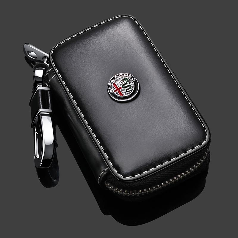 🔥Hot sale!-Car Key case,Genuine Leather Car Smart Key