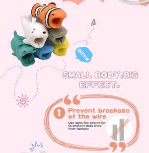 Low to $3.99 - The Cute Animal Cable Bite(Factory Outlet)
