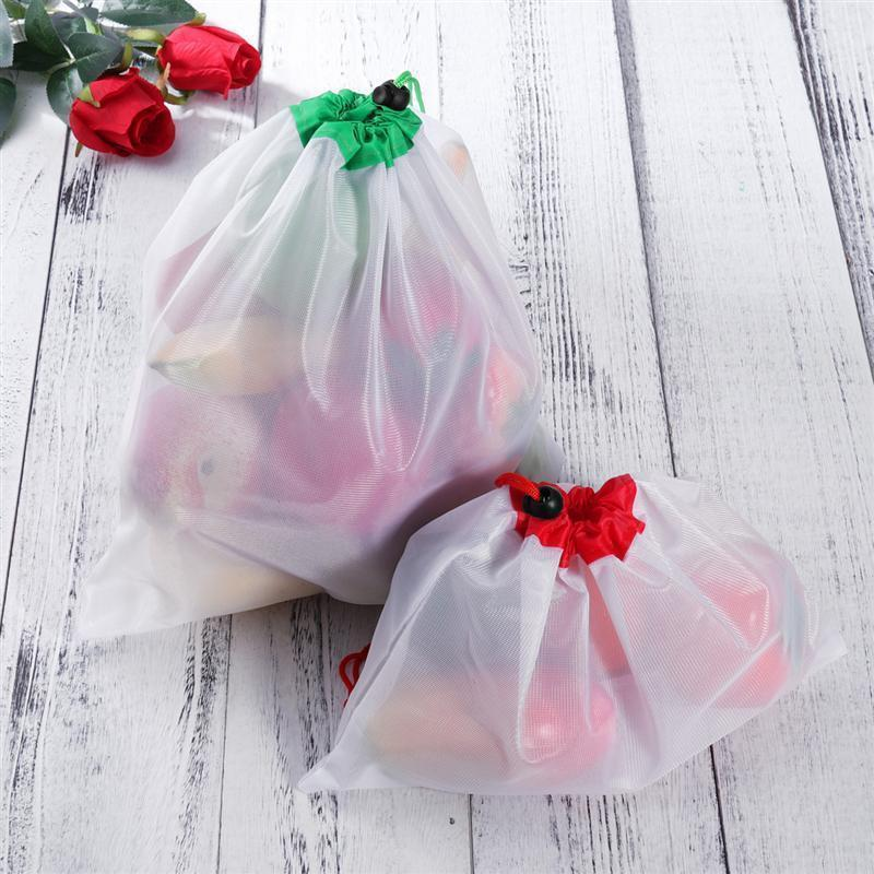 Zero-Waste Reusable Produce Bags - 12pcs