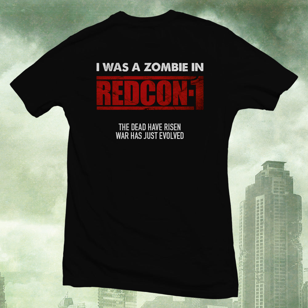 Official REDCON-1 'I WAS A ZOMBIE' T-Shirt
