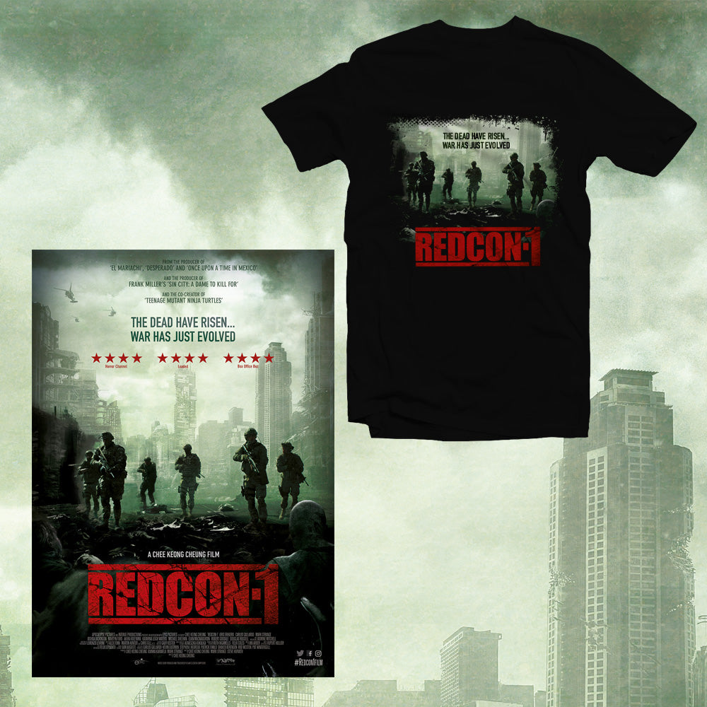 *SPECIAL OFFER* REDCON-1 T-Shirt + Signed Poster package
