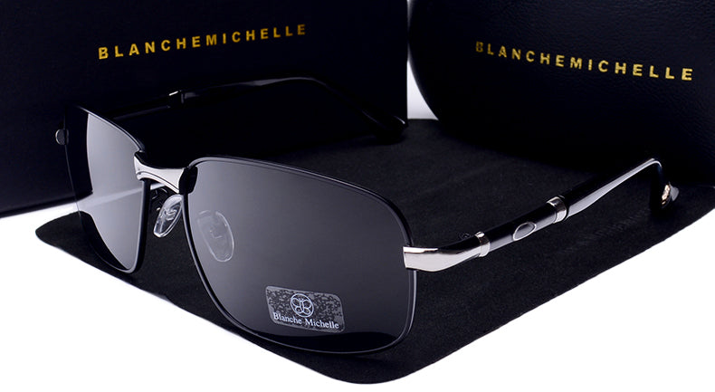 New 2019 Blanche Michelle UV400  Rectangle Polarized Sunglasses