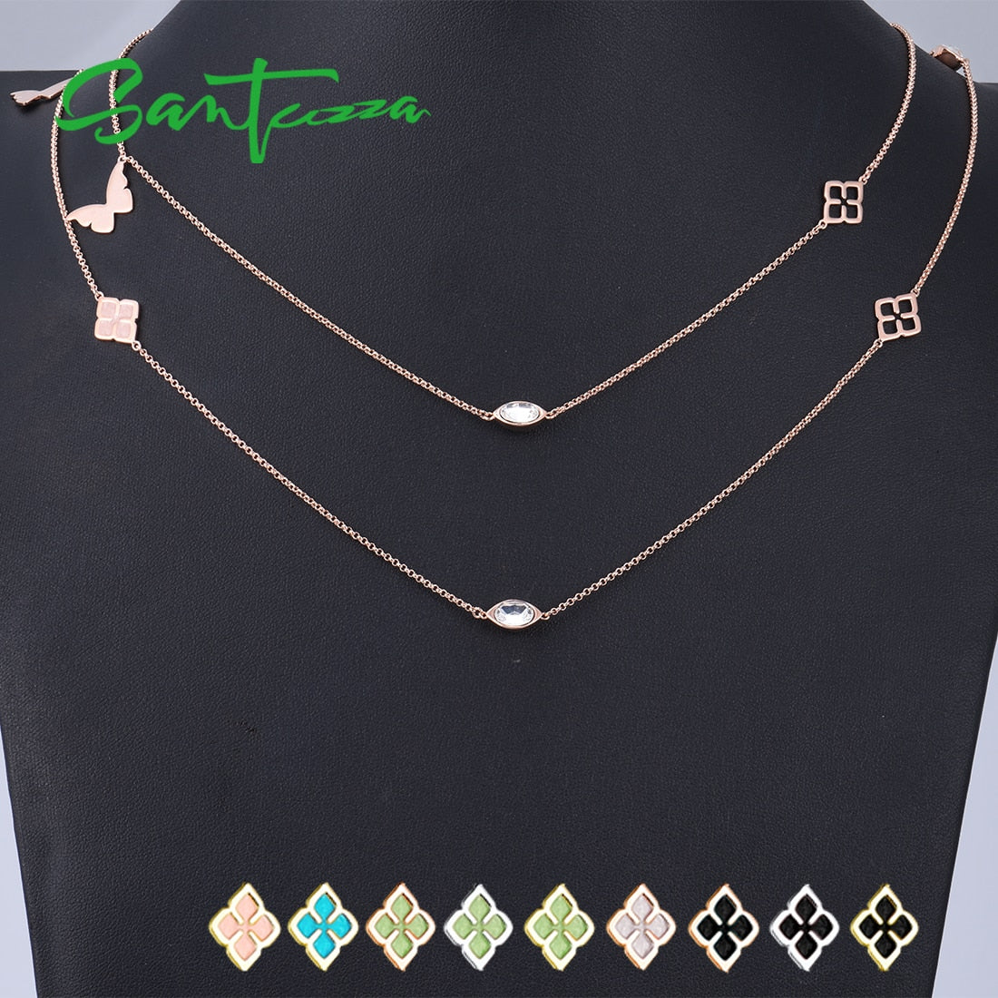 Handmade Geometric Necklace For Women