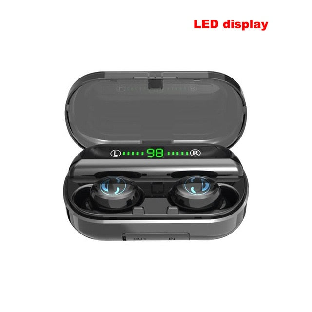 V5.0 Powerful Bluetooth with CVC8.0 Intelligent Noise Reduction Wireless Earphones