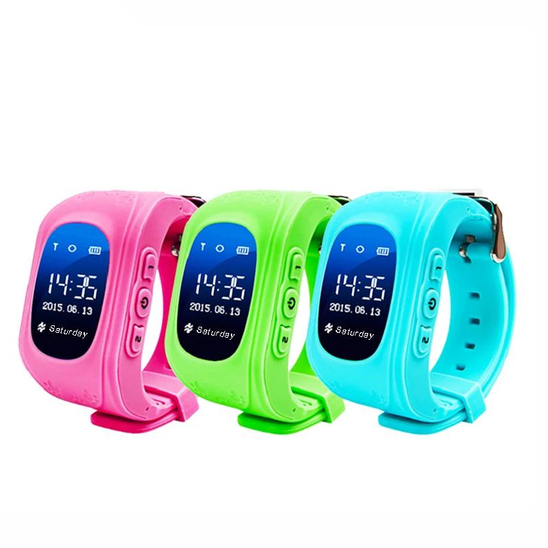 Q50 Smartwatch for Kids with GPS Tracker & Anti-Lost Remote Monitor