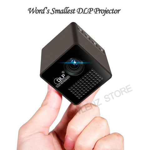 Mini Cube DLP LED Projector