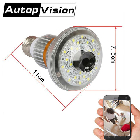 New Style HD9600P Bulb Light WiFi Camera
