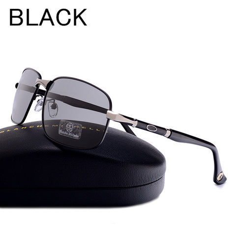 New  2018 Blanche Michelle UV400  Rectangle Polarized Sunglasses