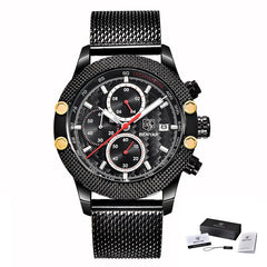 Men's Chronograph Waterproof Dress Watch