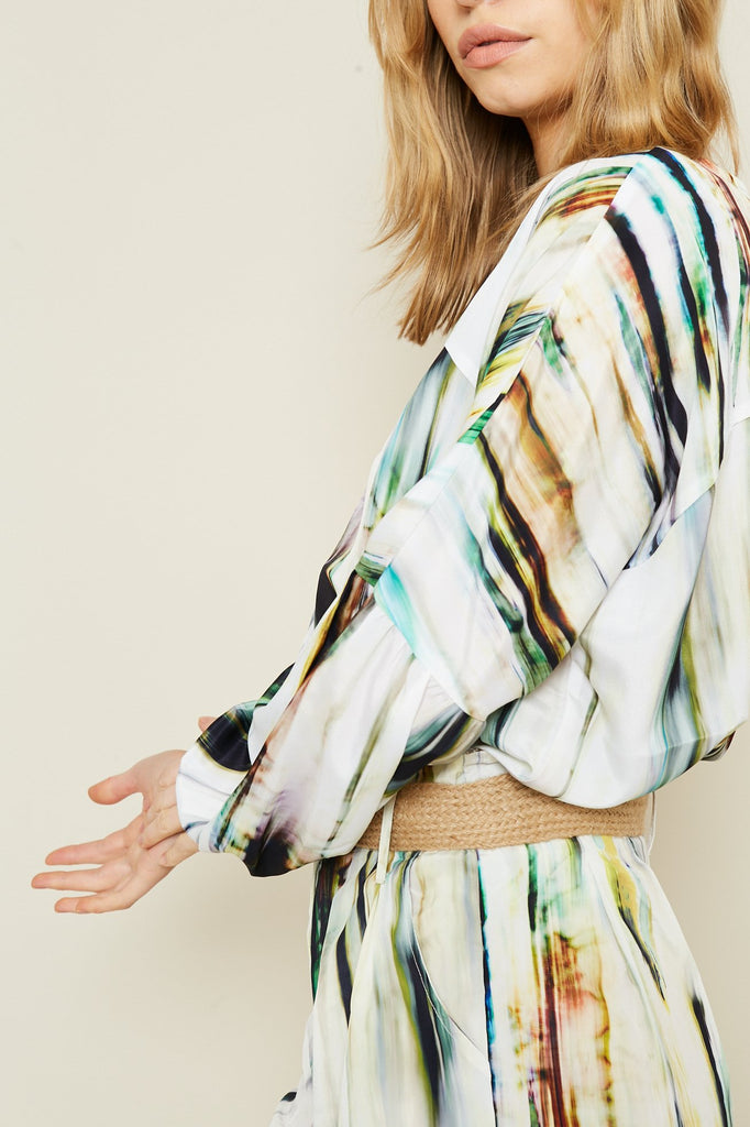 THE FORESTA BLOUSE