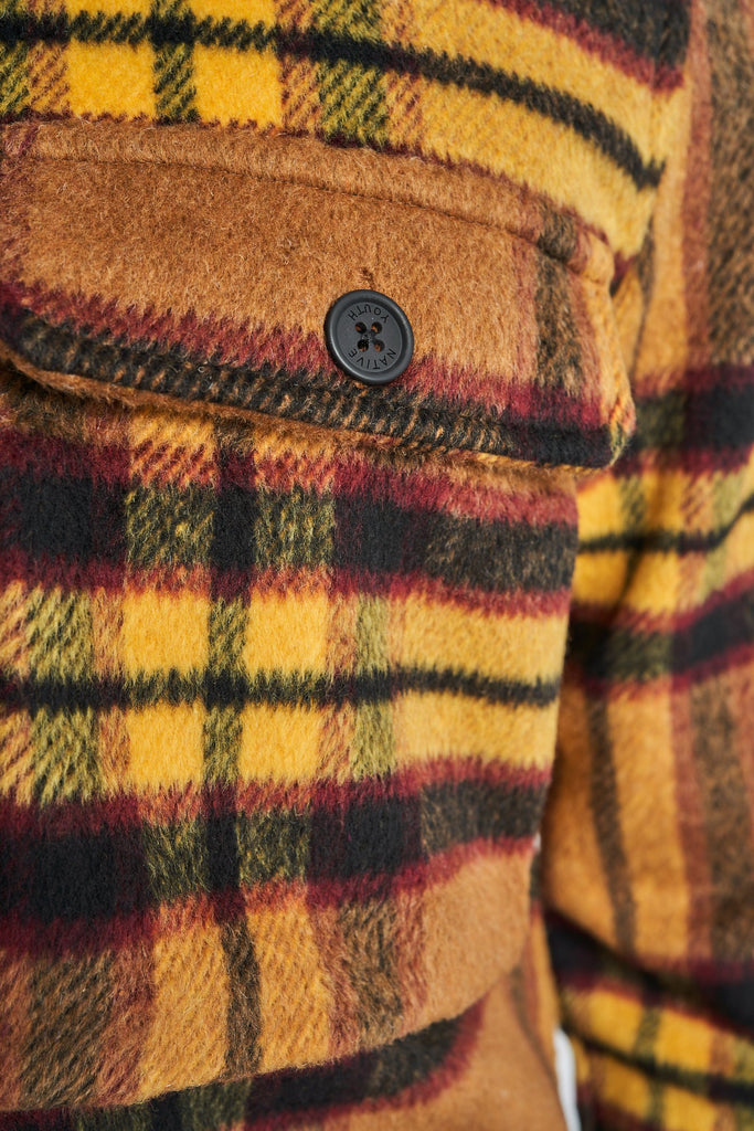 JACKSON WOOL OVERSHIRT