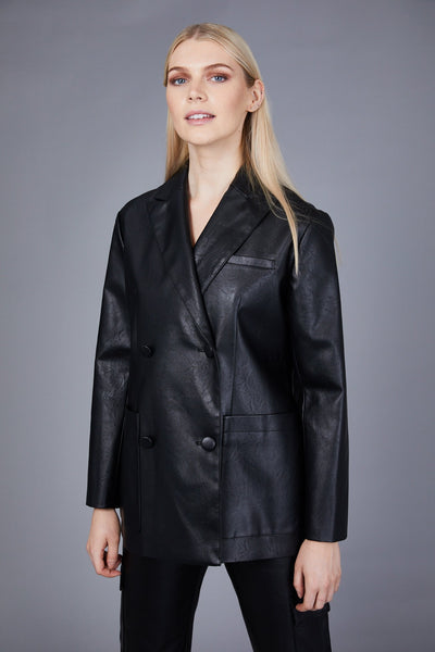 THE LUNA VEGAN BLAZER