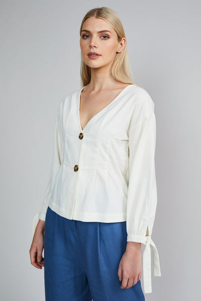 THE LYDIA BLOUSE