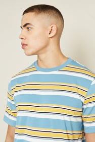 JARVIS T-SHIRT - BLUE MULTI