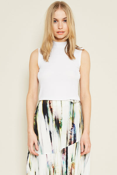 THE ELIZA TOP - WHITE