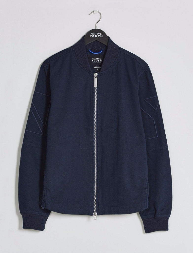 Harlyn Cotton Twill Bomber Jacket