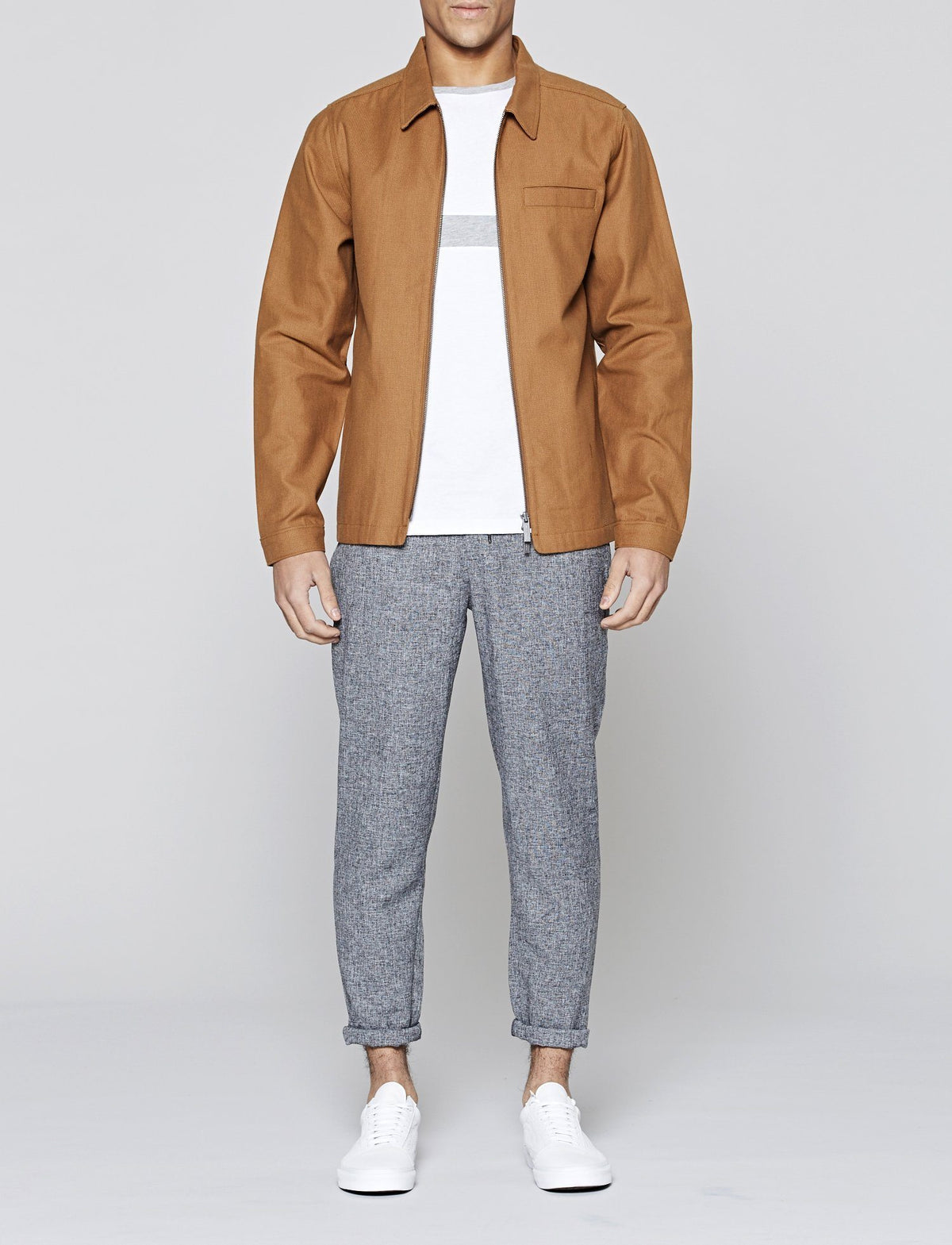 Brown Hemmick Coach Jacket