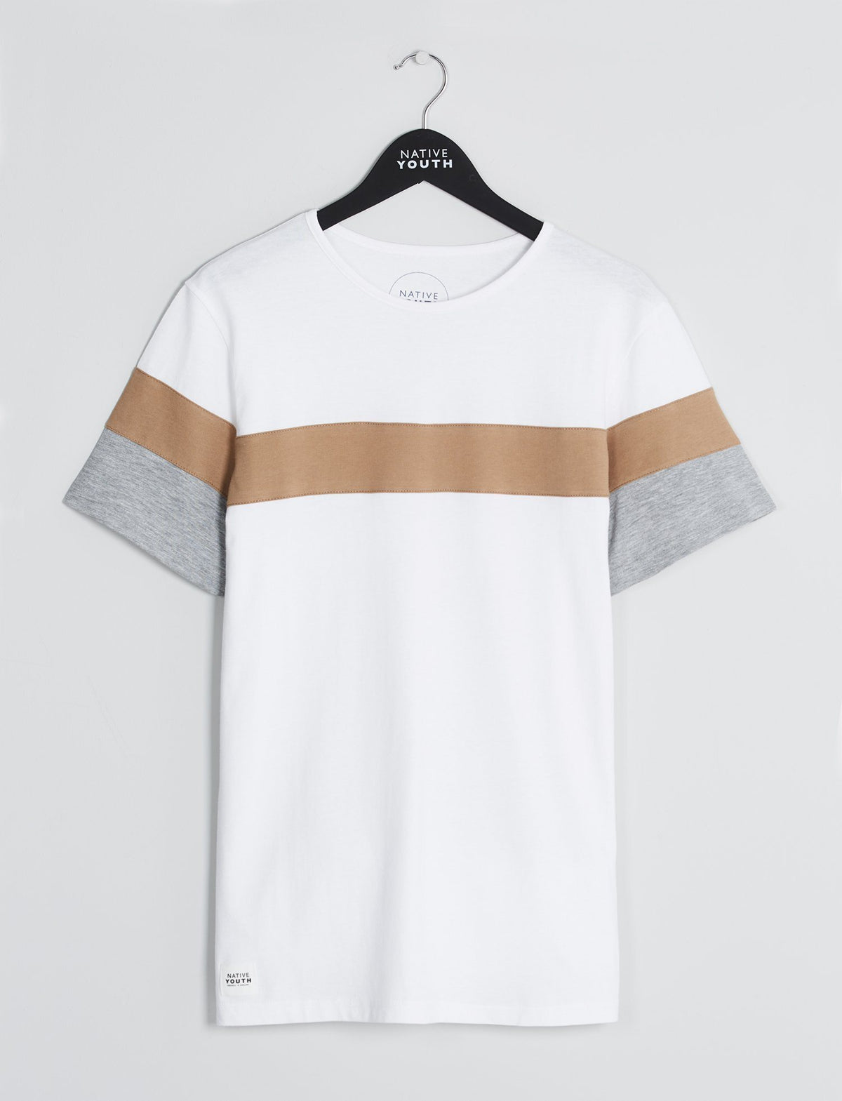 White Chesil Cut & Sew Tee