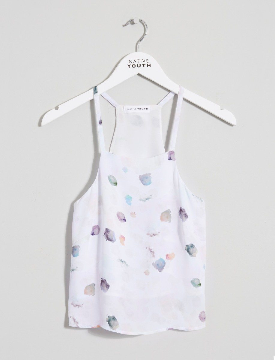 Paint Drop Cami Top