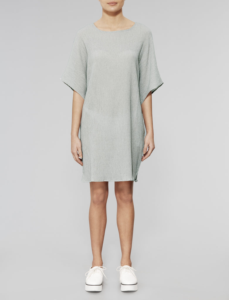 Grey Wreath Tunic Dress