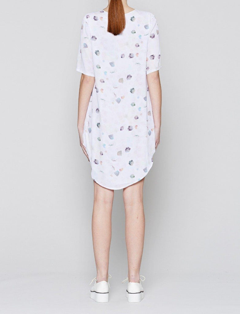 Paint Drop T-Shirt Dress