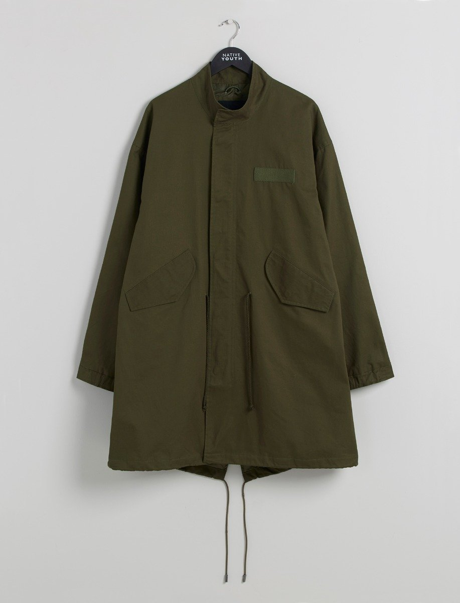 Unisex Apex Parka Coat