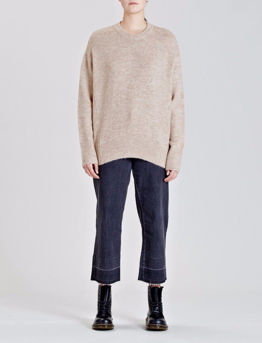 Zenith Knitted Sweatshirt