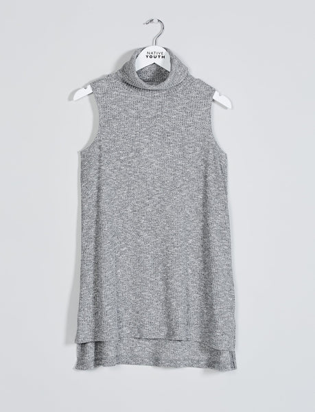 Zephyra Roll Neck Tunic