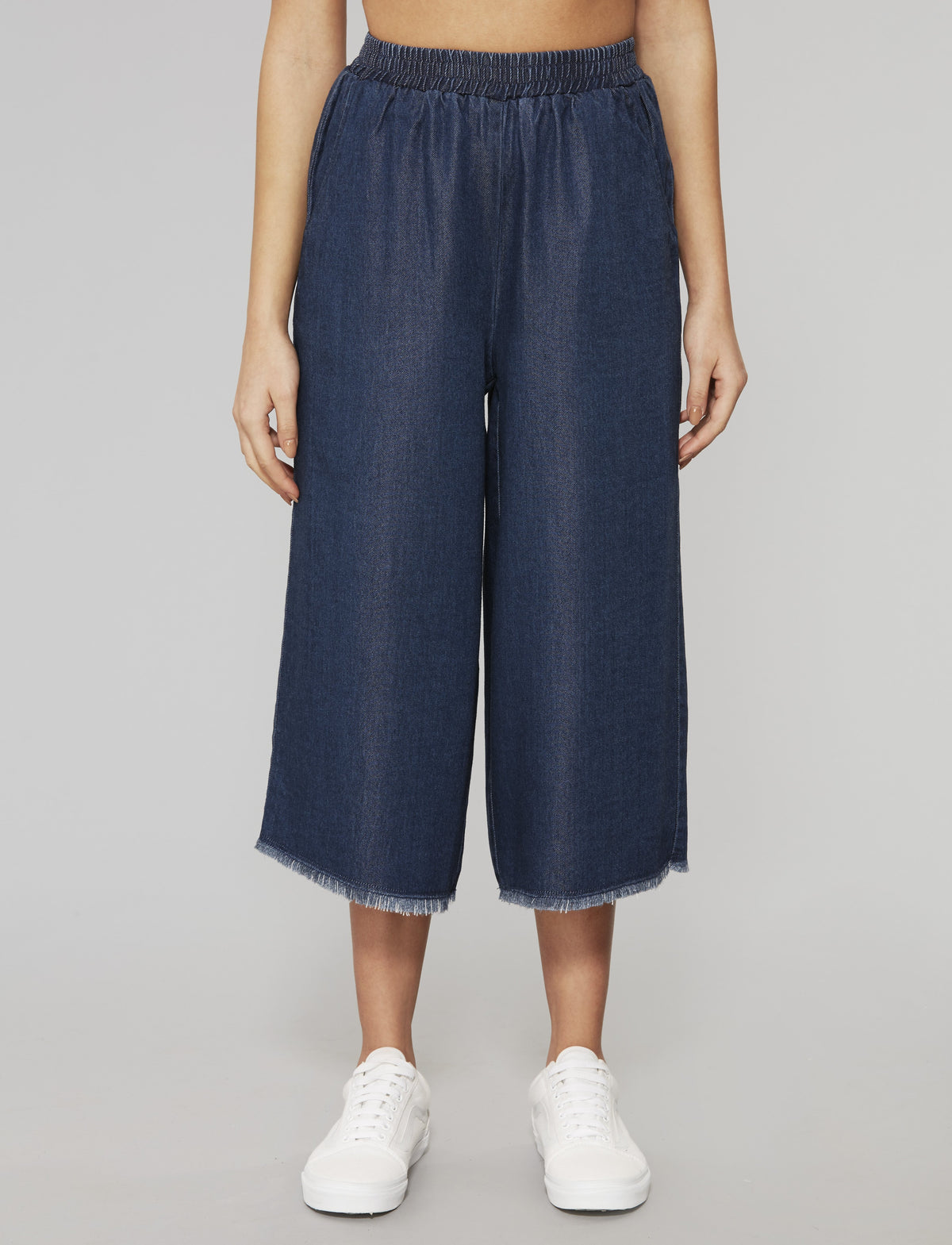 Blue Stream Tencel Culottes