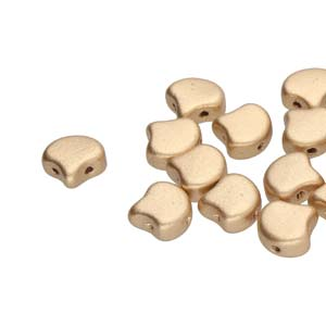 GINKO 7.5mm Bronze Pale Gold - 40 pcs
