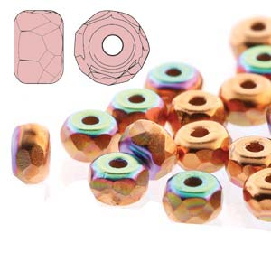Fac. Micro Spacers 2X3mm Copper Plate AB 50 pcs