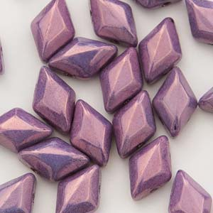 GEMDUO 8x5mm : Chalk Vega Purple-60 ea