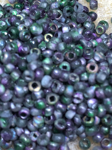 Seed Bead - Etched Magic Orchid 8/0 - 10 gm tube