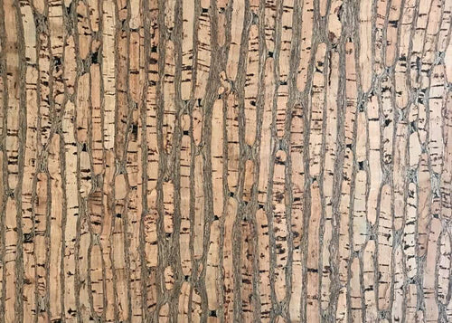 Cork Fabric - Jade Natural