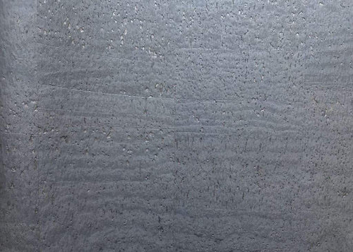 Cork Fabric - Surface Shimmering Gunmetal