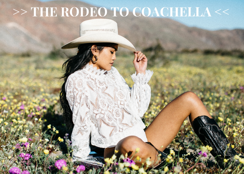 LOOKBOOK: THE RODEO TO COACHELLA