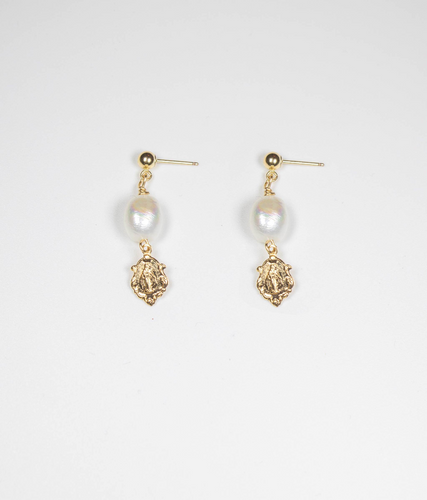 MADAME PEARL DROP EARRINGS