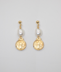 SAINT PERLA DROP EARRINGS