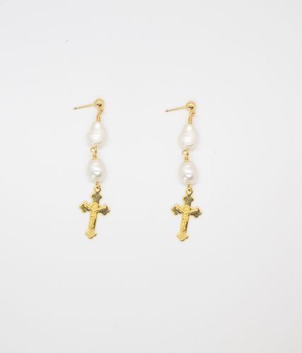 SANTO PECADO DROP EARRINGS