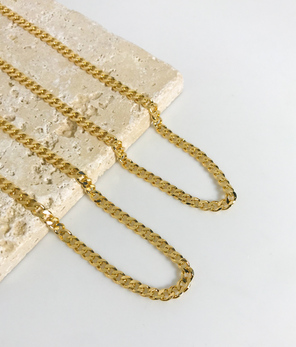 CUBAN LINK CHAIN NECKLACE | 4MM