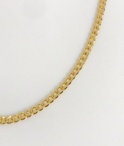 CUBAN LINK CHAIN NECKLACE | 3MM
