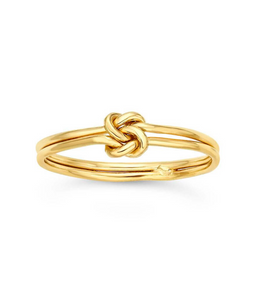 Knotty Stacking Ring