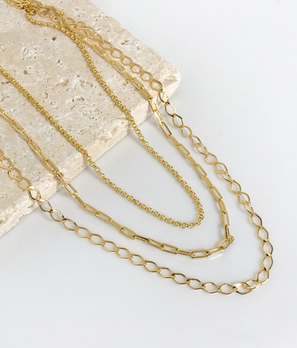 TRES LAYERED NECKLACE