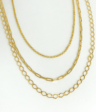 Load image into Gallery viewer, TRES LAYERED NECKLACE