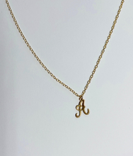 Load image into Gallery viewer, Cursive Letter Necklace
